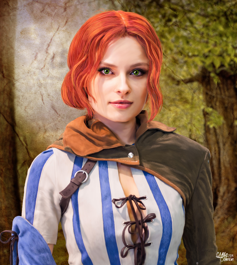 Triss Merigold in quarter resolution